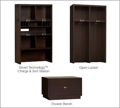 Pottery Barn Build Your Own Brady Entryway Modular Components 299 00 499 00 Right Now We Have Trofast From Ikea Foyer Furniture Entryway Furniture Home