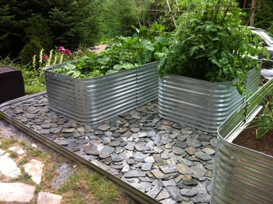 Home Garden Beds Raised Garden Metal Garden Beds
