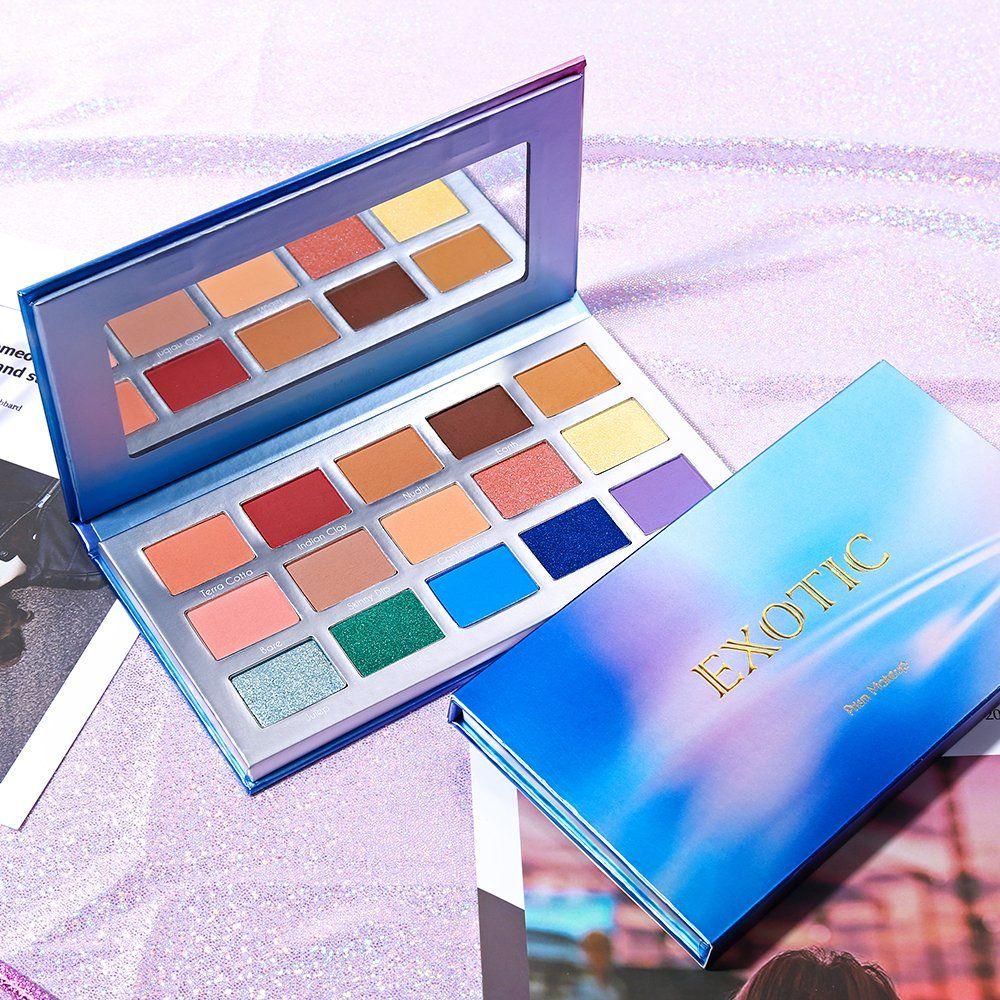 Prism Makeup 15 Colors Eye Shadow Palette Matte Shimmer