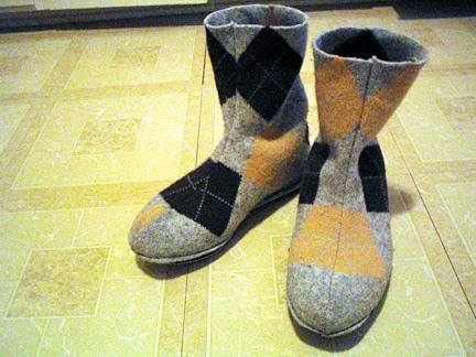 Realizzare Stivali Lana Come Vecchi La Dei Riciclando Pantofole E nPvmwy0ON8