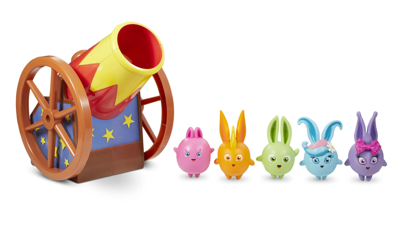 Sunny Bunnies Bunny Blast Playset, MultiColor Bunny