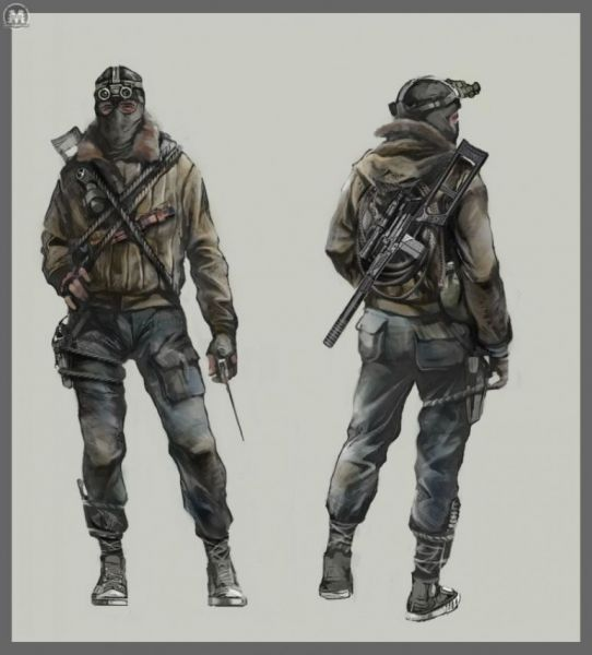 Apocalyptic Soldier Pics: Stalkers In 2019