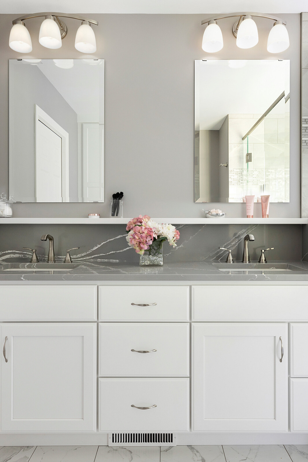 Gray Quartz Bathroom Vanity Ideas Skymarble Vanitytop Grayvanitytop Quartz Bathroom Countertops Bathroom Countertops Quartz Bathroom