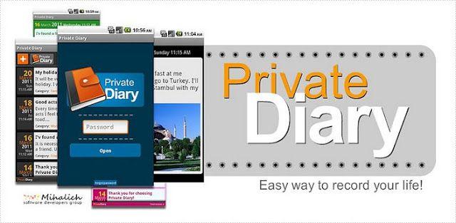 Private Diary v6.7 APK Free Download APKStall Private