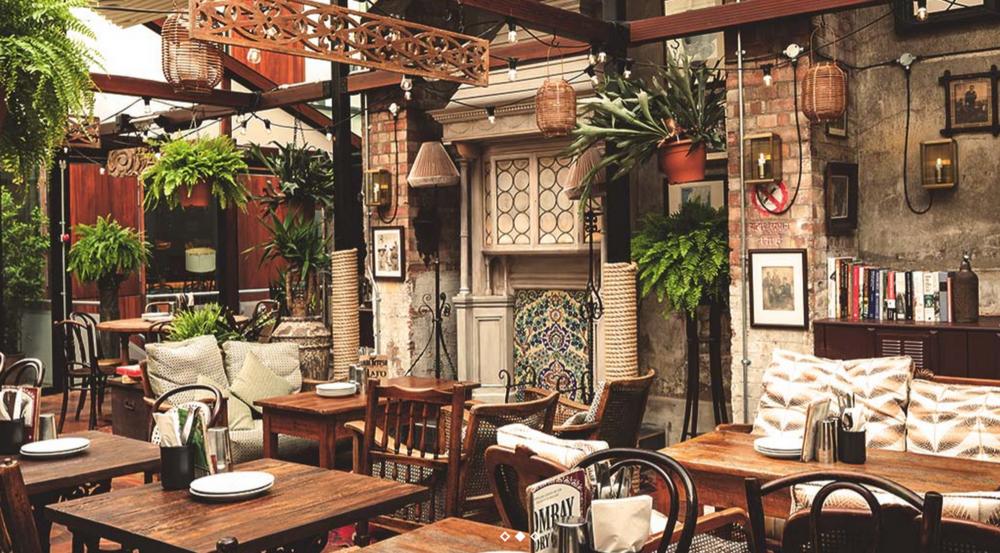 The al fresco bars, cafés and restaurants perfect for