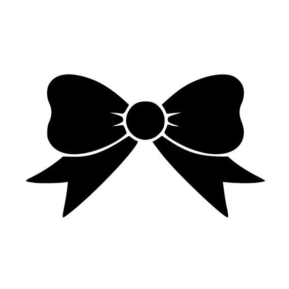 Cute Bow Decal 0026 Girly Decals Monogram Stickers