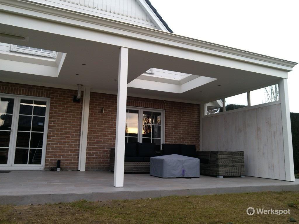 Houten veranda met glazen dak google zoeken uitbouw pinterest verandas pergolas and porch - Dak van pergola ...