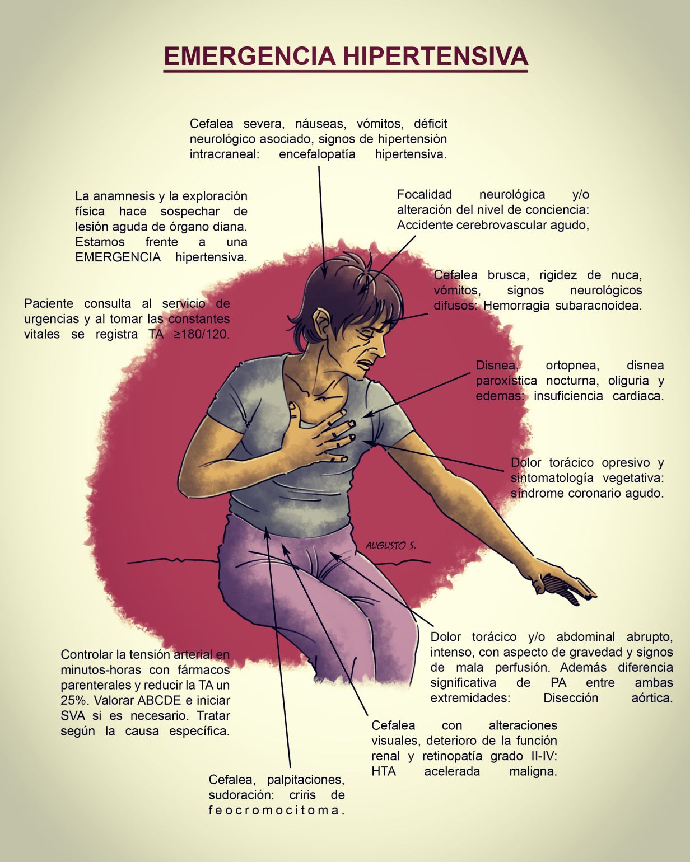 ¿Cómo bajan los médicos la presión arterial en una emergencia?