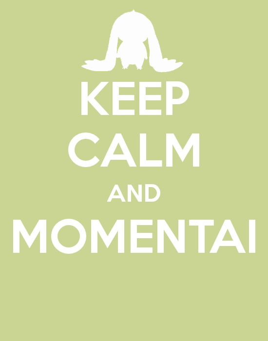 Keep calm and MOMENTAI by ~Leo-Ish-Epic on deviantART