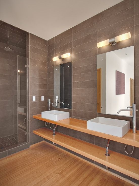 Pin by Mike Grosso on Bathroom | Pinterest | Brown bathrooms designs ...