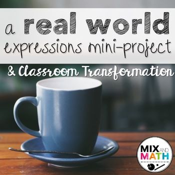 Expressions and Equations Project #mathintherealworld