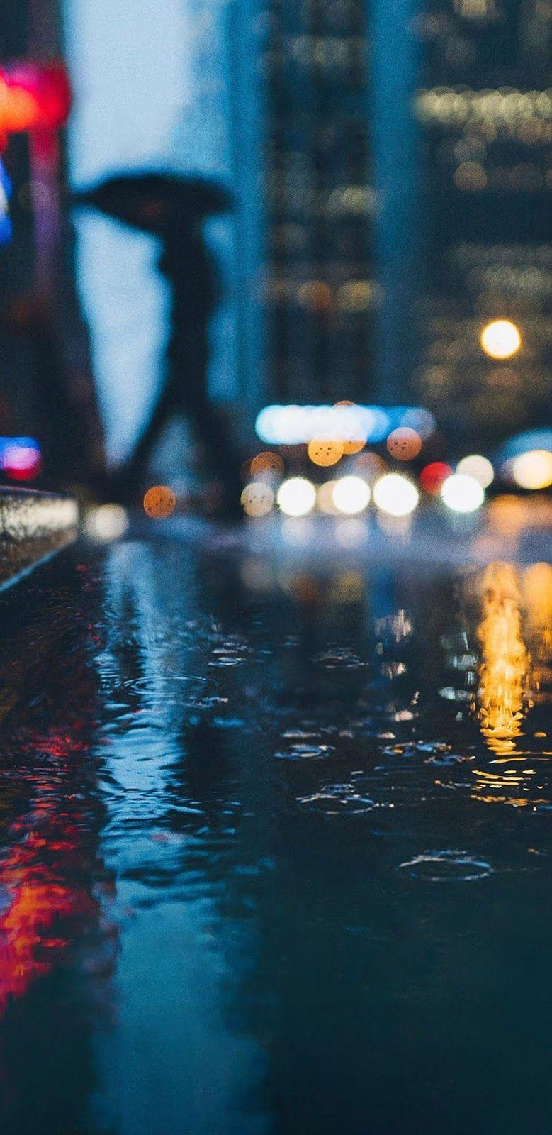 Rainy Night Mobile Wallpaper Google Pixel Wallpaper Rain Wallpapers Iphone Wallpaper Rain