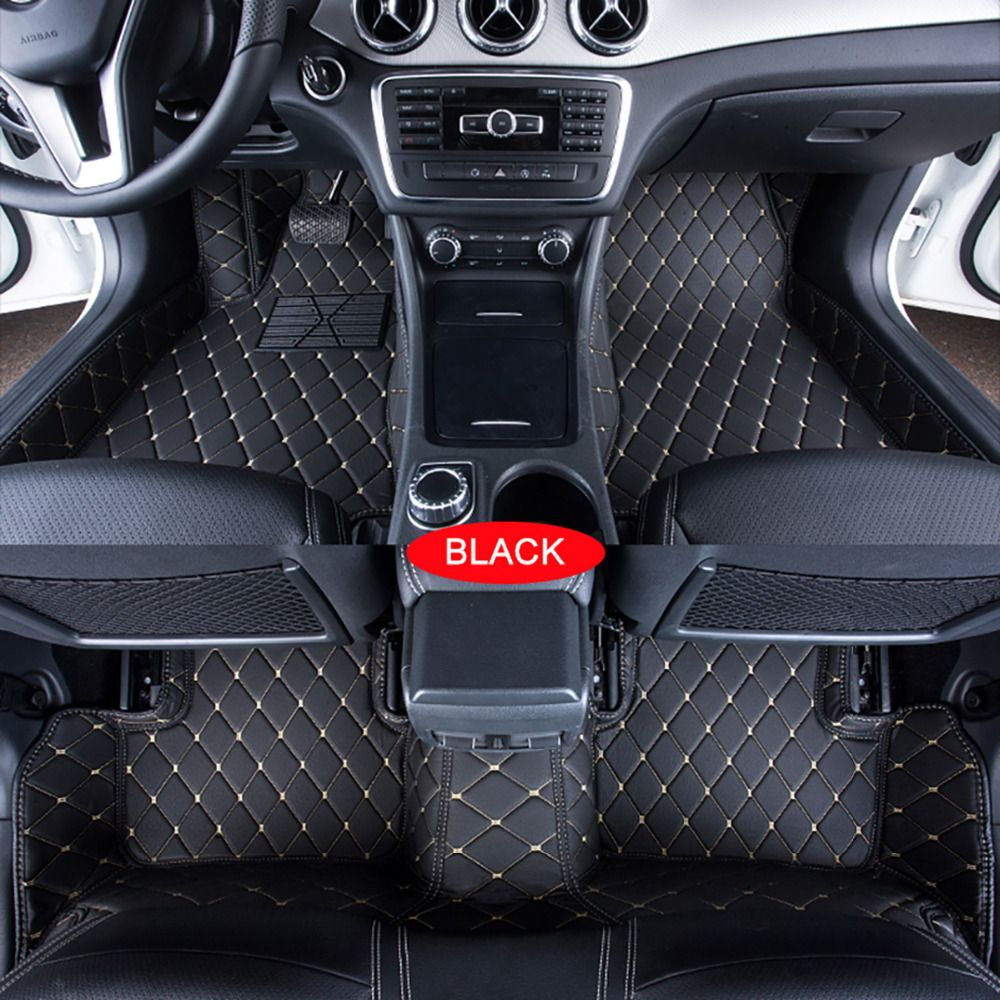 Car Floor Mats Case Forrenault Laguna Customized Auto 3d Carpets