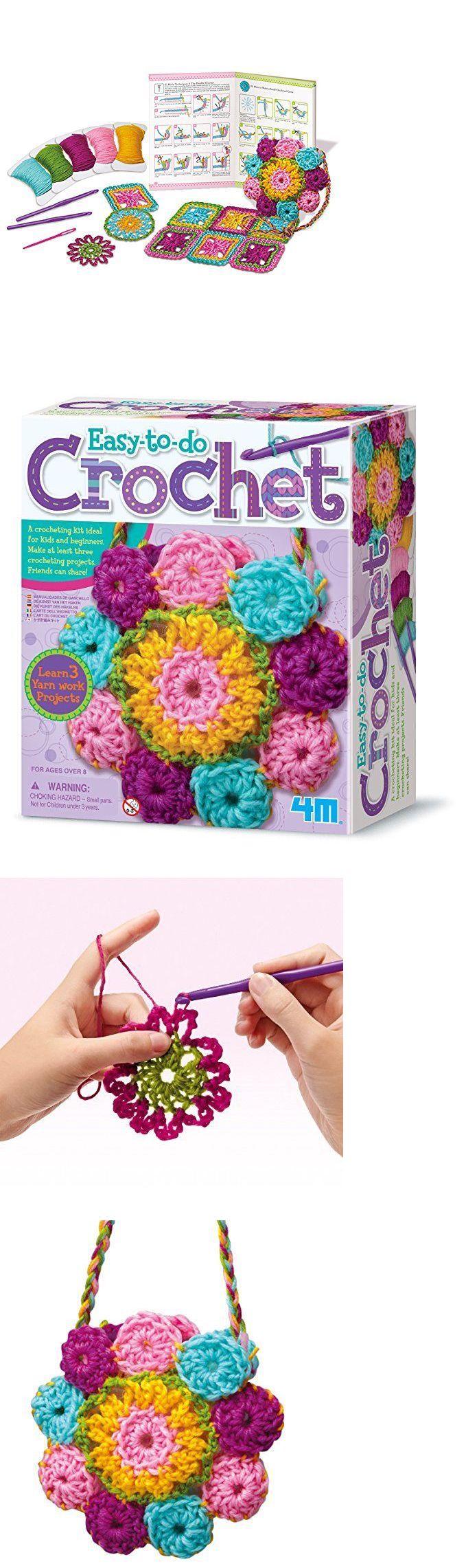 Crochet Kits 108867 4m Easy To Do Crochet Art Kit Kids Beginners