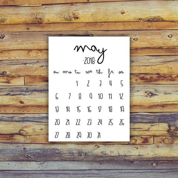 printable calendar may 2019 printable newborn instant download birth