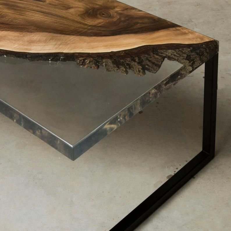 Kundenspezifischer Epoxidharz Couchtisch Aus Europaischer Nussbaum Uv Harz Live Edge Couchtisch Fluss Tisch Kunstharz Beistelltisch Walnut Coffee Table Etsy Furniture Coffee Table