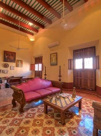 Yucatan, Mexico: Fully Restored Colonial House In The Heart