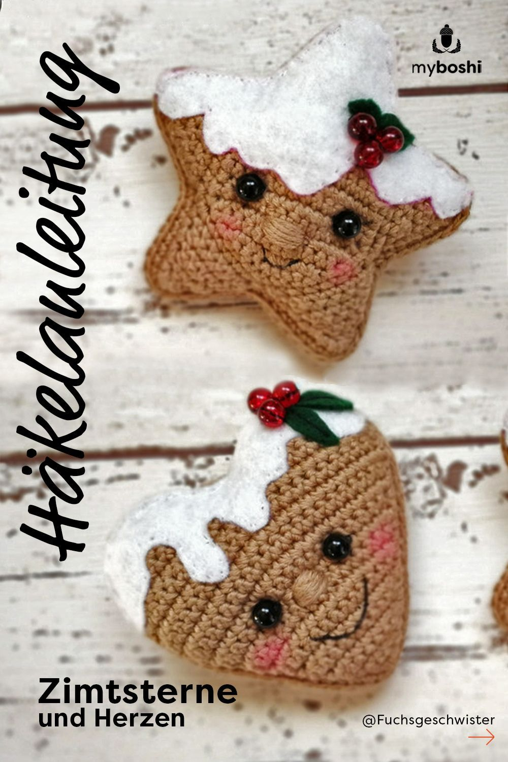 Photo of Crochet Amigurumi decoration for Christmas – Instructions – Crafts