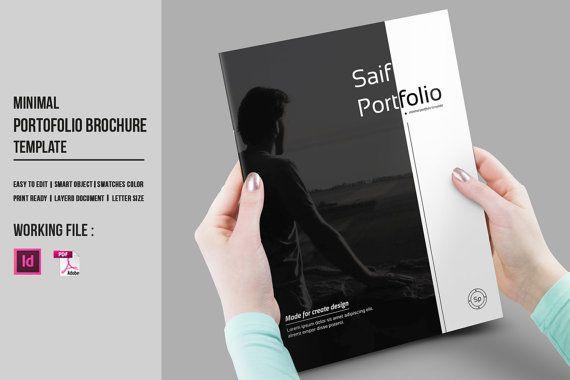 Indesign Portfolio Brochure Template By Templatestock On Etsy
