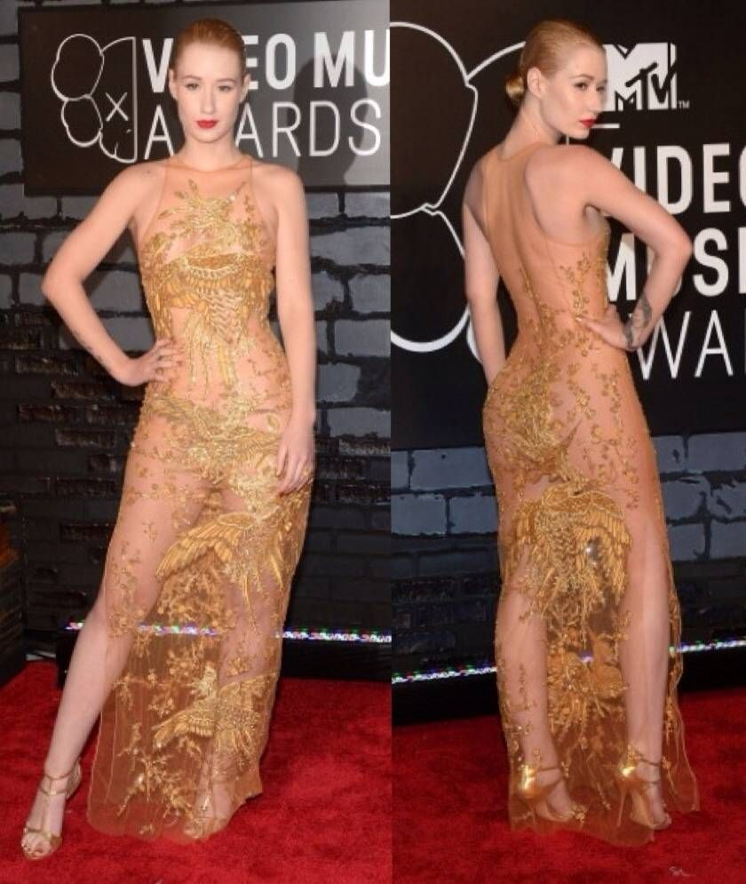 The 10 Most Scandalously See-Through Outfits In Red Carpet ...