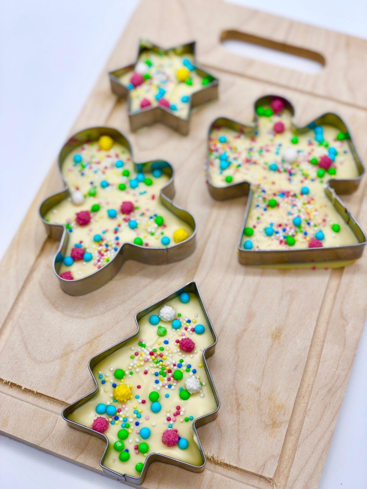 Schokolade schmelzen und verzieren - im Thermomix oder Wasserbad #weihnachtsgeschenkeselbermachen
