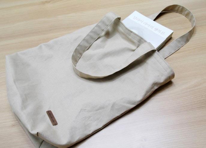 Canvas Eco-friendly Shopping Bag Tutorial -   17 diy Bag step by step ideas