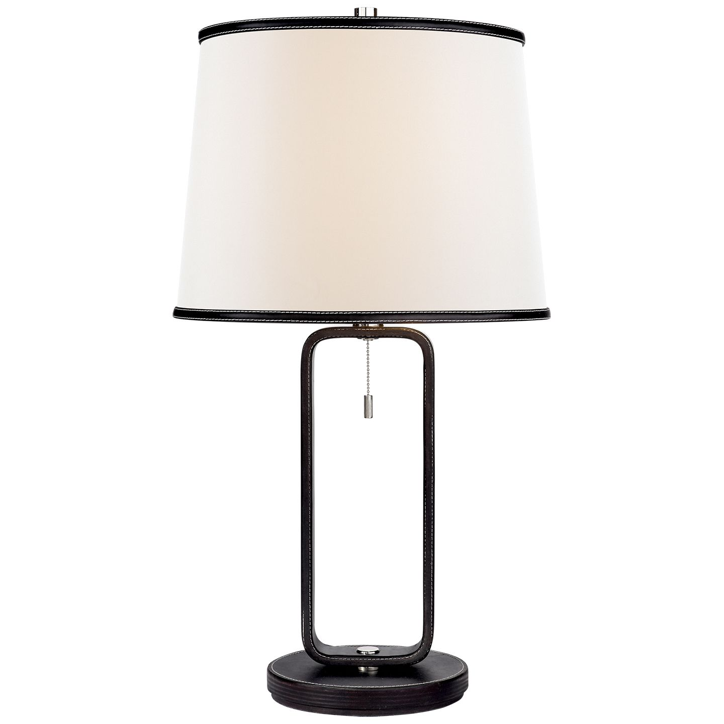 Exceptionnel Modern Black Table Lamp In A Chanel Style. Masculine Table Lamp. Metal Base  With