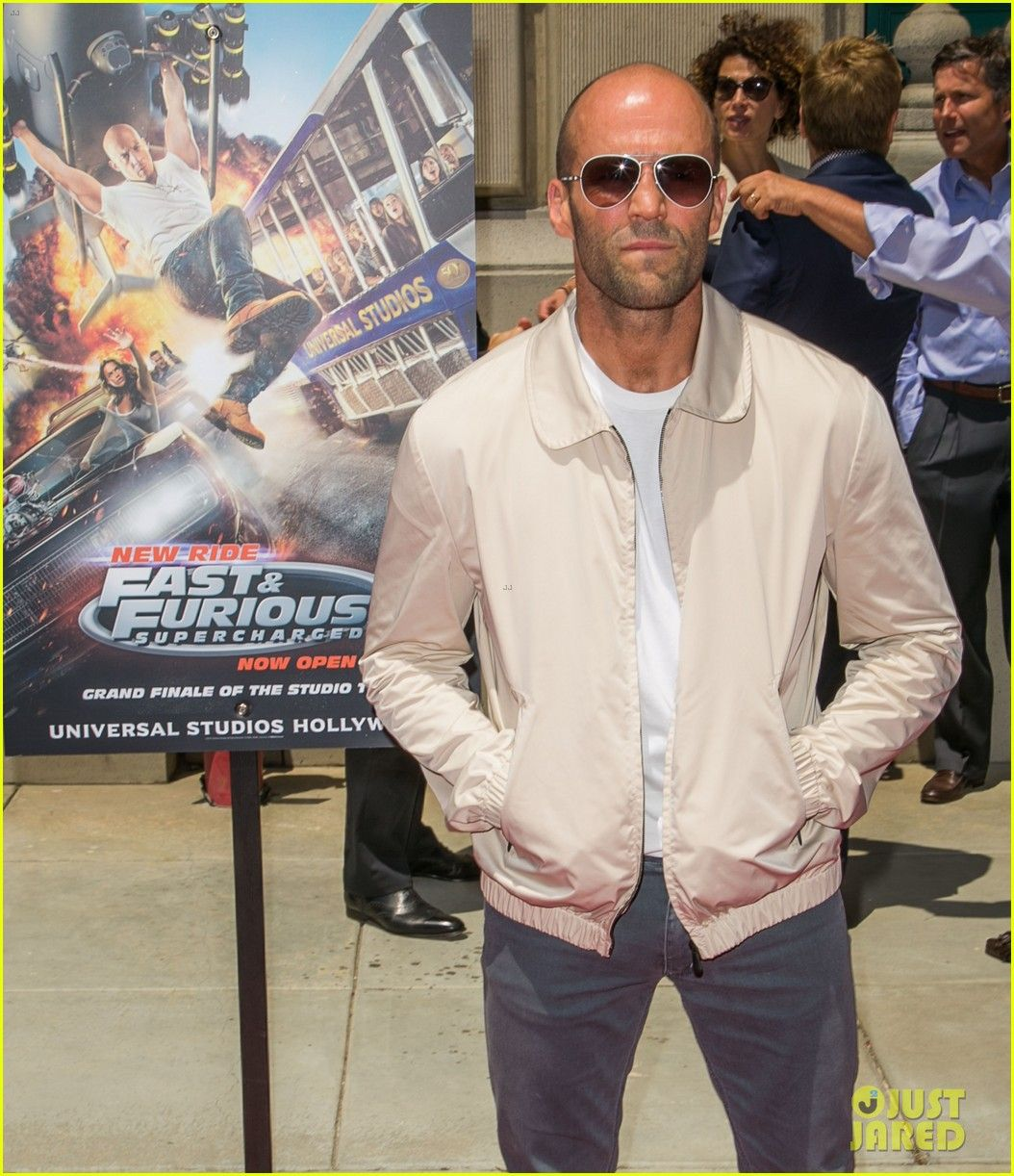 Jason Statham Announces He Is Returning For 'Furious 8'