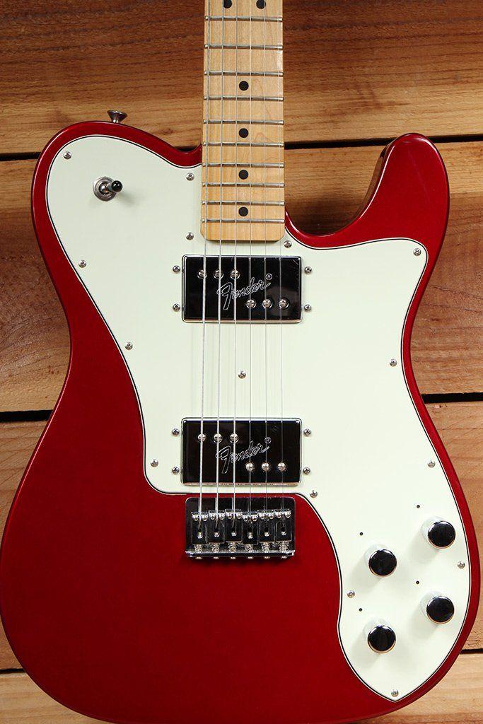 Fender '72 Telecaster Deluxe FSR 2010 Candy Apple Red Tele