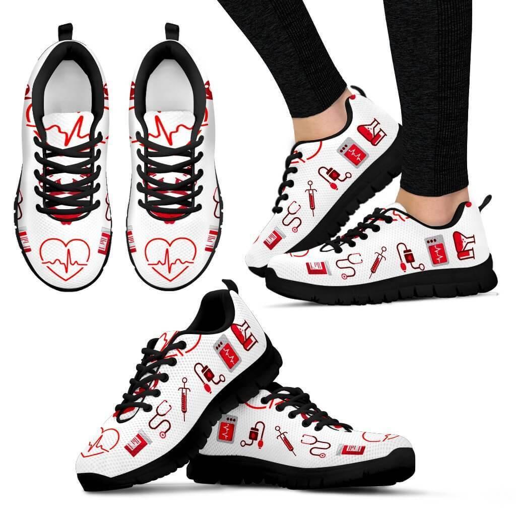 LOVE NURSE SNEAKERS   Sneakers, Women, Sports women