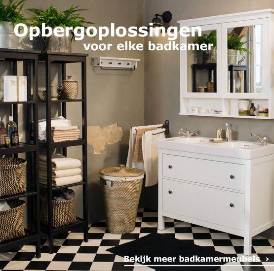 Opbergoplossingen voor elke badkamer | ***Ideas | Pinterest ...