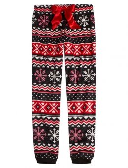 b9f830c851 Fairisle Fleece Pajama Pant