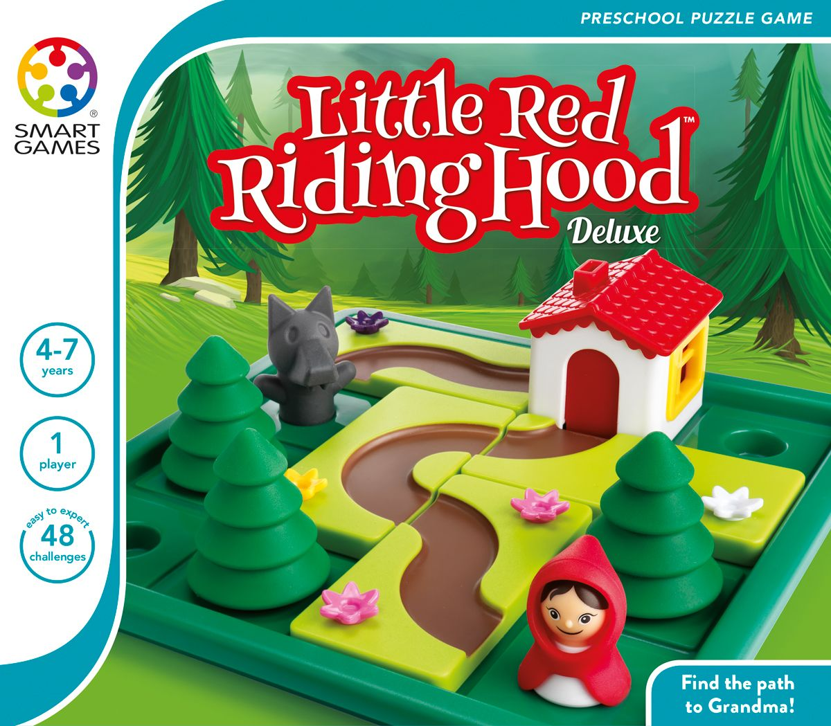Smart Games Little Red Riding Hood Deluxe Red riding
