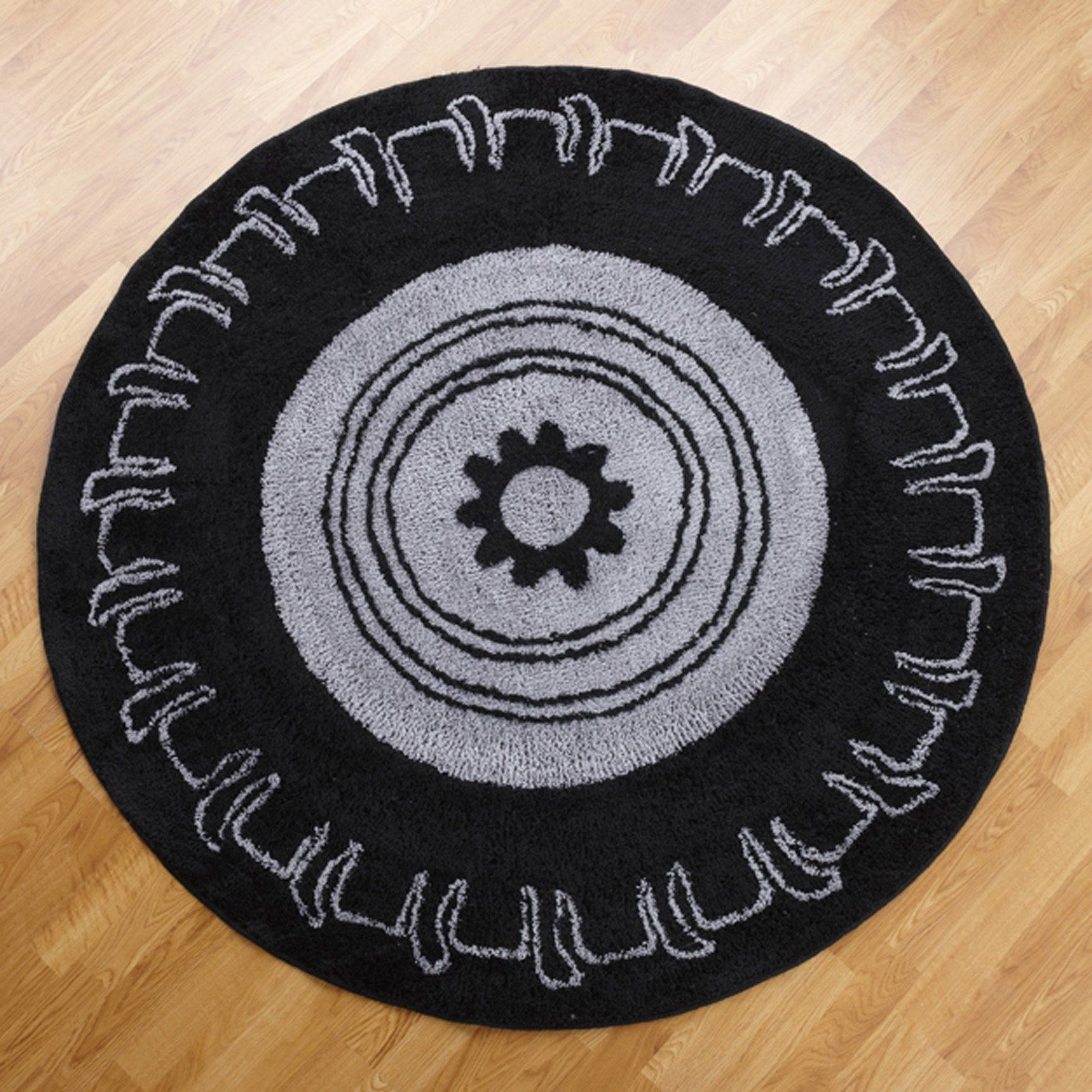 This Tire Rug Would Look Great In A Boy S Bedroom Or Playroom Monster Truck Bedroom Round Rugs Kids Rugs