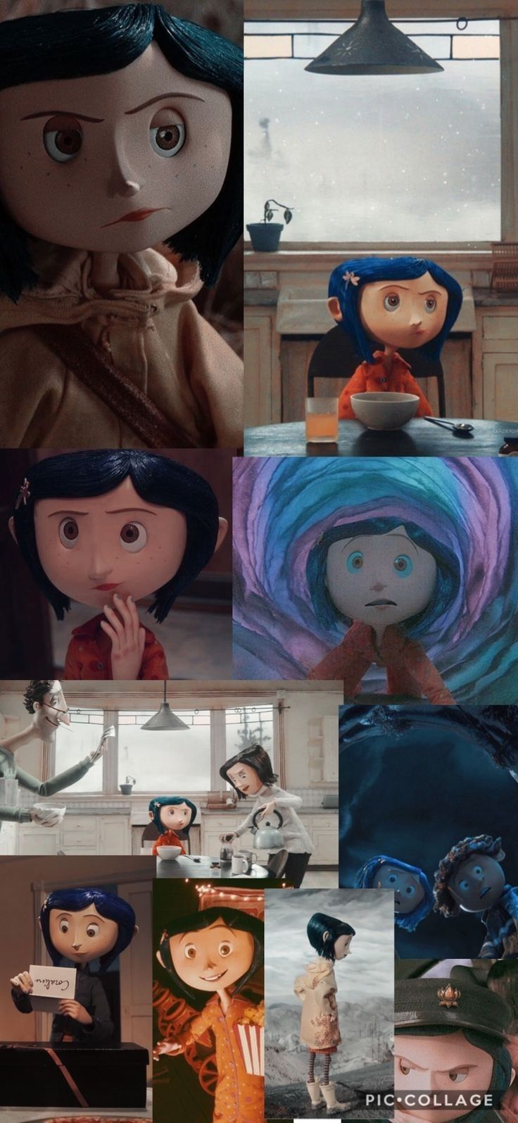 Pin By Byby Pink On Coraline In 2020 Coraline Aesthetic Coraline Art Cute Wallpapers