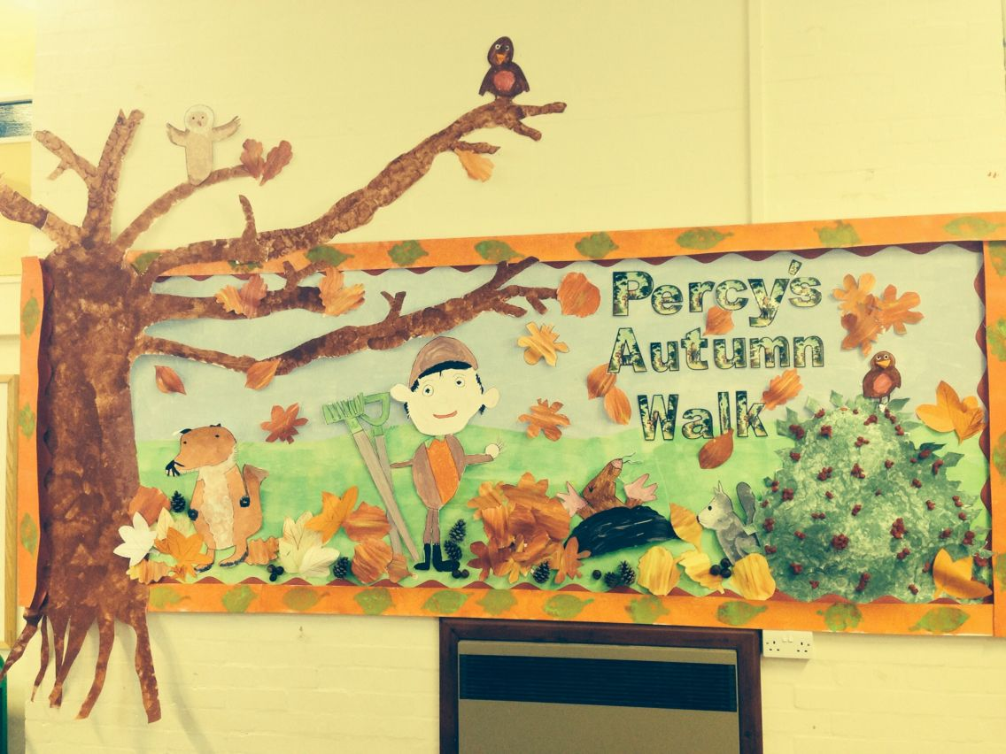 Autumn Percy the park keeper display | Autumn 2 | Pinterest | Autumn ...