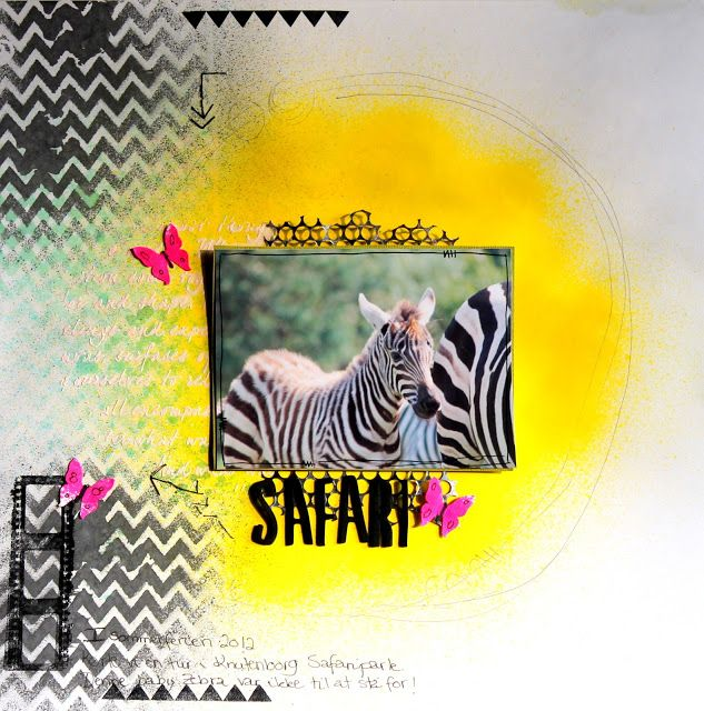 Jeanne D'art: Safari...