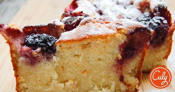 Deze cake is heerlijk klef en smeuïg, doordat je ricotta toevoegt. Hij staat binnen een handomdraai op tafel en met extra poedersuiker eroverheen gestrooid w...