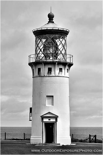 The Kilauea Point Lighthouse is located at the northernmost point of the main Hawaiian islands in Kilauea, North Kauai