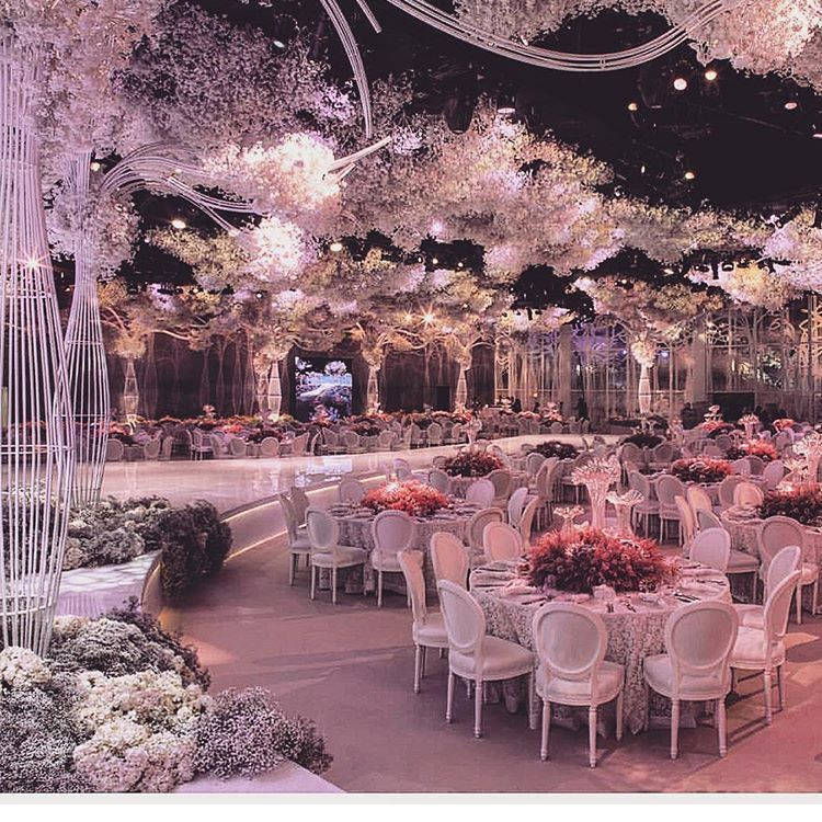 Indoor Wedding Reception Ideas: Wedding Decorations Sample