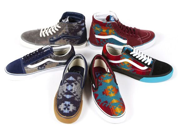 d0adaf5a2a6 Pendleton x Nibwaakaawin x Vans 2013 - Charity Auctions ...