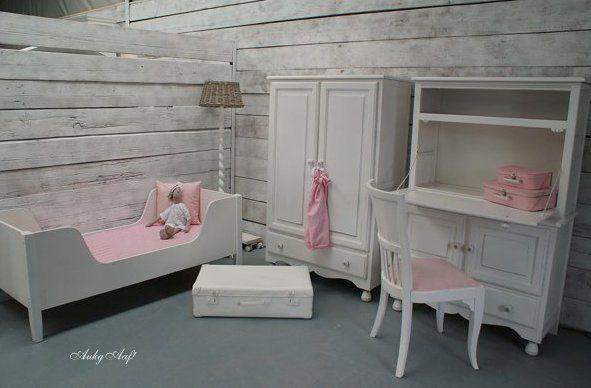 Landelijk Mintgroene Kinderkamer : Brocante kinderkamer aukgaaf sfeervolle meubelen