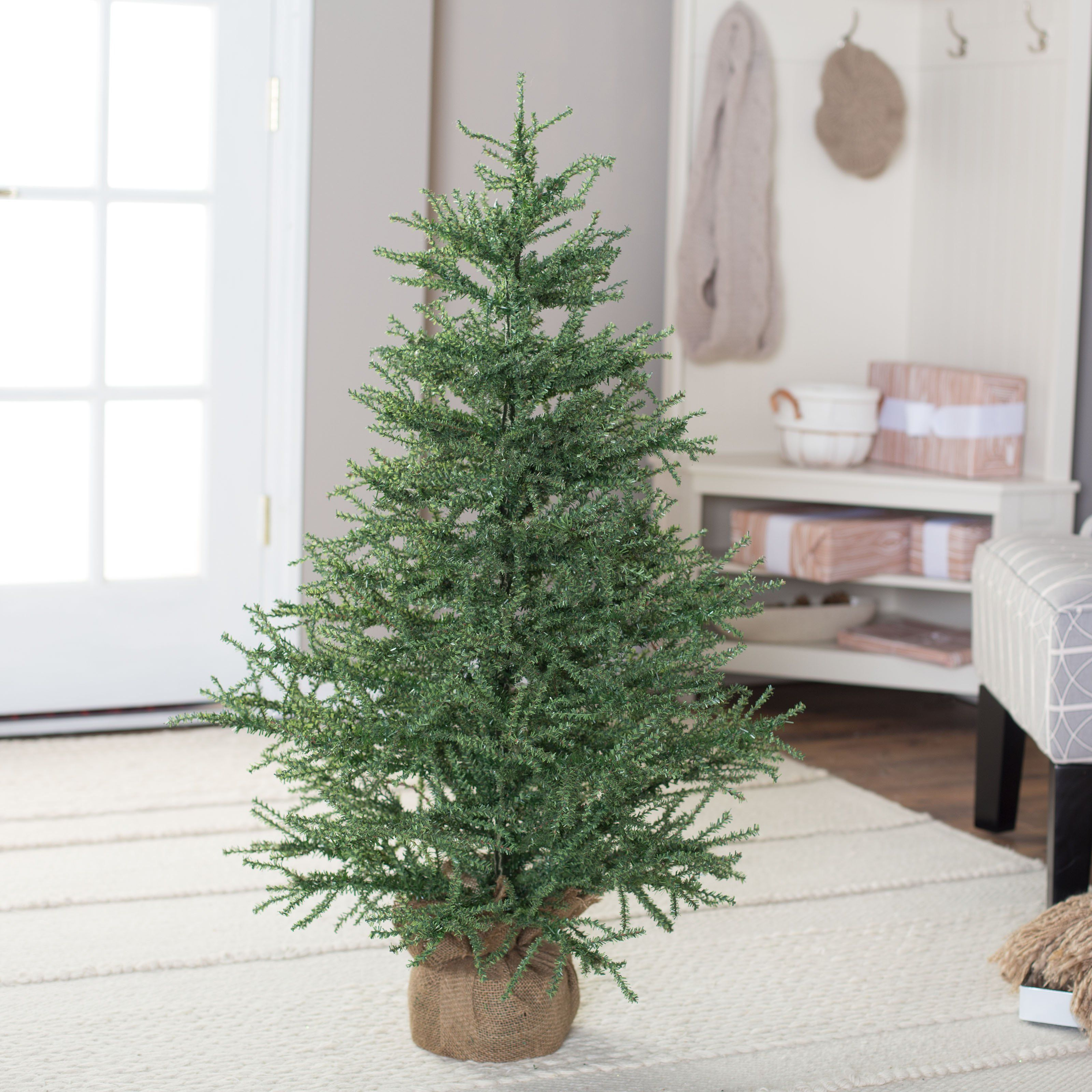 42 inch unlit pistol pine christmas tree by sterling tree company from hayneedlecom - Sterling Christmas Trees