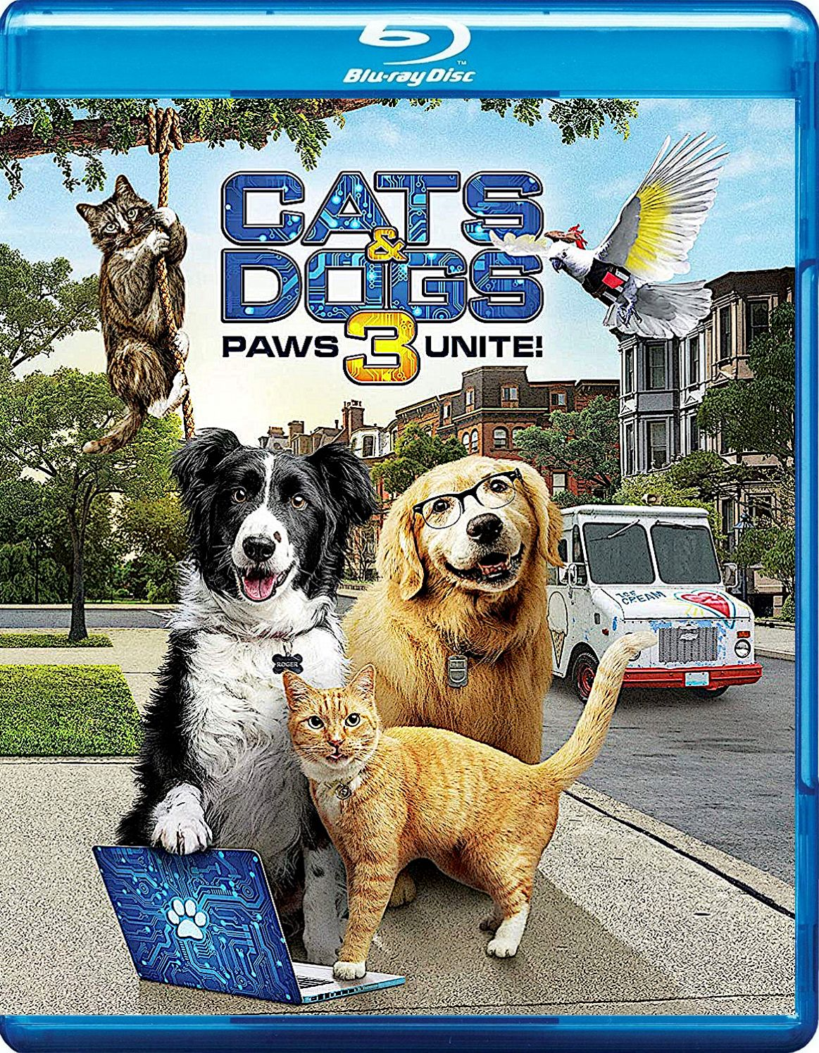 CATS & DOGS 3 PAWS UNITE! BLURAY (WARNER) in 2020 Dog