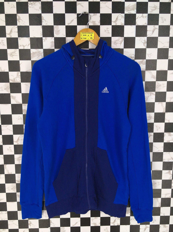 Vintage 90's ADIDAS Equipment Sweatshirt Hoodie Medium