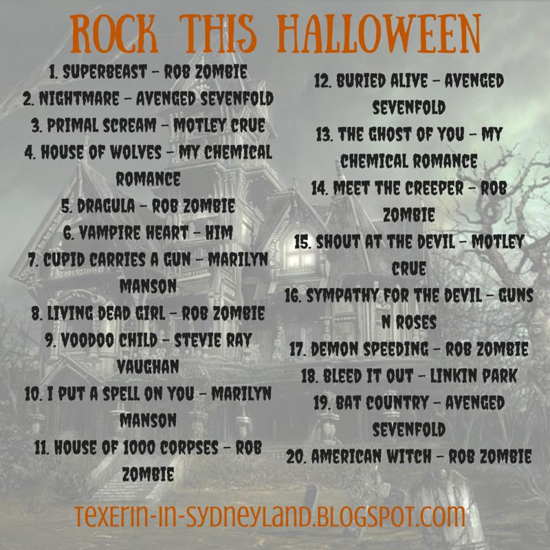 Playlist 3: Rock This Halloween