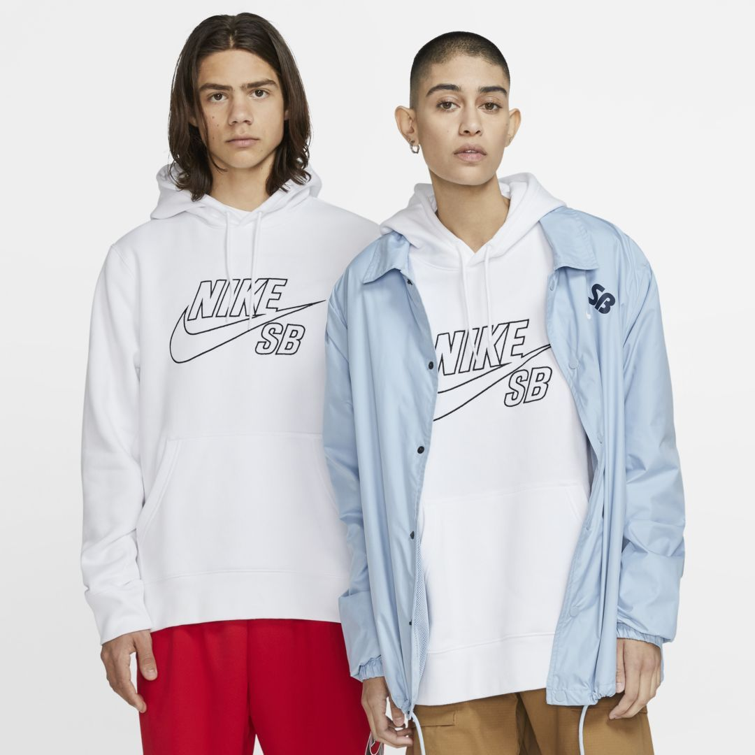 Photo of Nike SB Pullover Skate Hoodie (Weiß)