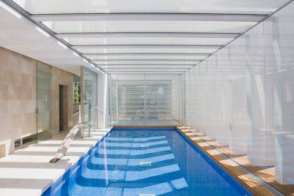 exclusive design indoor pool hotel