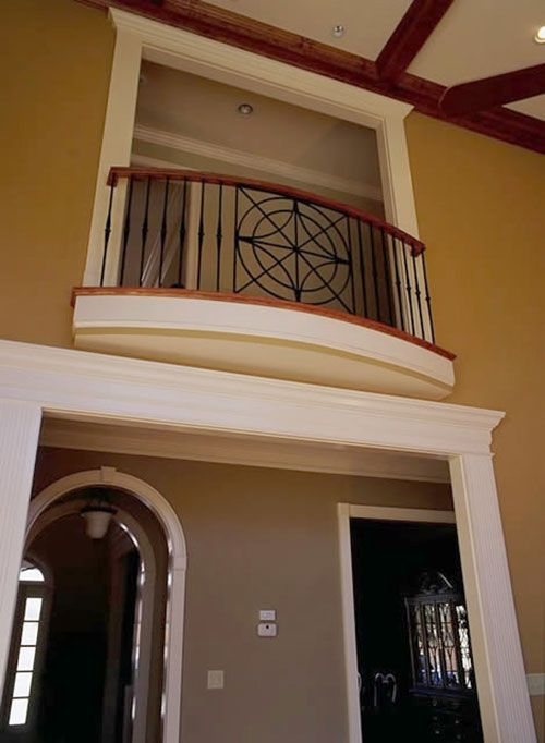 Juliet balconies juliet balcony railings heirloom stair iron double decker pinterest - Best bedroom with balcony interior ...