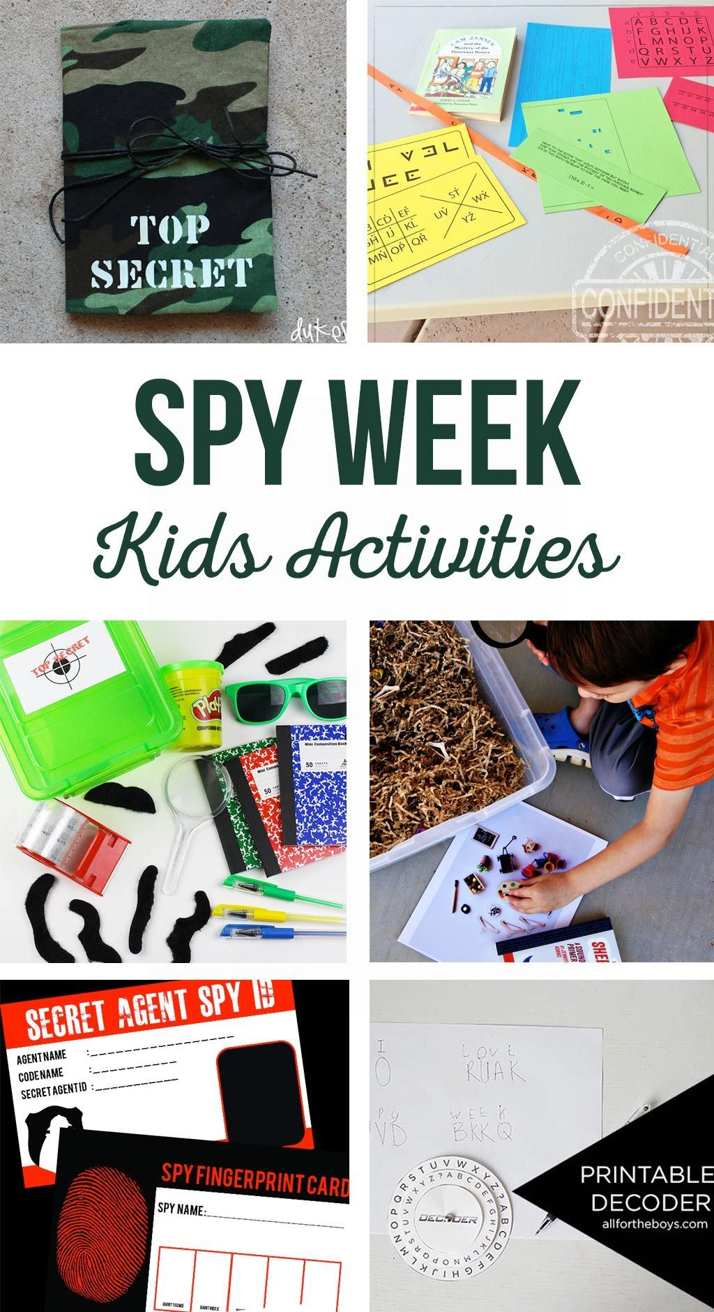 Spy Kids Activities